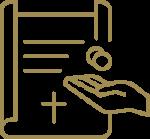 Icon für Leistung Erbschaft – Planung