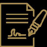 Icon für Leistung Sonstige Beurkundungen – Beglaubigungen